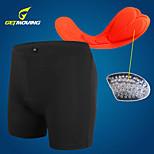 Getmoving® /Summer/Autumn/Winter Cycling Bottoms/Sports Outdoor/Cycling/Cycling  Underwear Shorts/Orange crotch cushion