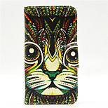 Leopard Pattern PU Leahter Full Body Case with Card Slot for Microsoft Lumia 640