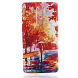Mangrove Forest Pattern TPU Material Soft Phone Case for LG G3 Mini