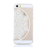 Flowers Left Pattern Hard Back Case for iPhone 5/5S