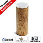 MM106 Natural Wood Bluetooth Speaker Easy Operation Mini Portable Pure Bluetooth Speaker