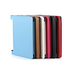 Solid Colors High Quality PU Leather Cases With Stand Full Body Cases 8