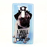 Puppy  Pattern Glitter TPU Cell Phone Soft Shell For LG G4