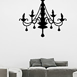 Wall Stickers Wall Decals Style European Style Chandelier PVC Wall Stickers