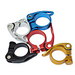 WEST BIKING® Death Speed 28.6 Seat Tube Clamp Quick Release Gold Colored Mountain Bike Seat Tube Quick Release Clip