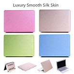 Candy Colors Soft Touch ABS+Plastic Luxury Smooth Silk Skin Case Cover for Macbook Pro Retina 15'' (Assorted Color)