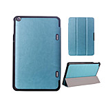Solid Colors Luxury Leather Flip Full Body Stand Cases with Magnetic Buckle for Toshiba Encore 2 Wt8 (Assorted Colors)
