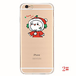 Cute Cartoon Cosplay Soft TPU Gel Case Cover for Apple Phone Back Skin Mobile Phone Case for iPhone 6