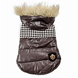 Black/Brown  Hot Selling Cotton Coats/Hoodies For Dogs