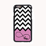 Love and Wave Design Aluminum Hard Case for iPhone 6