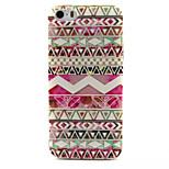 Geometry Pattern TPU Painted Soft Back Cover for iPhone 5/5S