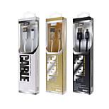 lepards® Webstoff USB 2.0-Stecker auf Micro-USB-2.0-Stecker Daten / Ladekabel für Samsung / Fahrwerk / HTC / xiaomi (120 cm)