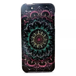 Datura Flowers Pattern Glitter TPU Cell Phone Soft Shell For iPhone 5/5S