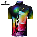 Getmoving Bike/Cycling Jersey / Tops Women's / Men's / Unisex Short SleeveBreathable / Ultraviolet Resistant / Moisture Permeability /