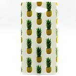 Pineapple Pattern TPU Material  Phone Case for Sony Xperia M2