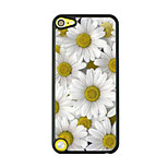 Daisy Leather Vein Pattern Hard Case for iPod touch 5