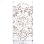 Hollow Flower Pattern Ultrathin Hard Back Cover Case for Sony Xperia M2