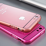 Metal frame + acrylic PC backboard support iphone mobile phone protection shell / 5 s