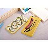 Banana Color Pattern Plastic Case for iPhone 6