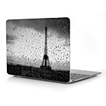 Rain in Paris Eiffel Tower Design Full-Body Protective Plastic Case for 12