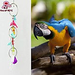 FUN OF PETS® Acrylic  Dolphins-shaped Chewing Lot with Bell for Birds(Random Color)