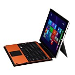 Bluetooth Keyboard Detachable Removable ABS Bluetooth Keyboard Case with Touch Pad for Microsoft Surface Pro 3