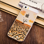 Autumn Come Pattern TPU Soft Case for iPhone 5/5S