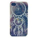 Campanula Pattern PC Material Phone Case for iPhone 4/4S