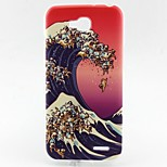 Wave Pattern TPU Material Soft Phone Case for LG L90 D405