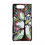 Colored Trees Pattern PC Material Phone Case for Sony Z3 Mini