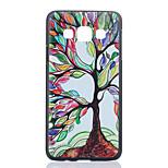 väri puu kuvio pc puhelin kotelo Samsung Galaxy a3