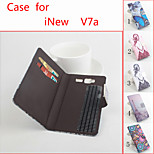 Flip Leather Magnetic Protective Case For iNew V7a(Assorted Colors)