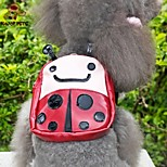FUN OF PETS® Lovely Brown Ladybeetle Travel Backpack for Pets Dogs (Assorted Sizes)
