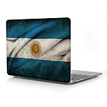 Argentina Flag Pattern Full-Body Protective Plastic Case for 12