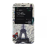 Transmission Tower  Pattern PU Leather Phone Case for Nokia Microsoft Lumia 640 XL
