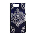Datura Pattern PC Hard Case for Sony Xperia Z3 Compact/Z3 mini