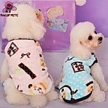 FUN OF PETS® Lovely Sheep Pattern Fleece Vest for Pet Dogs(Assorted Colours and Sizes)
