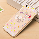 Small Sheep Pattern TPU Soft Case for iPhone 5/5S