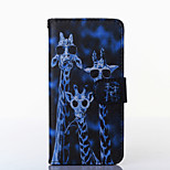Crazy Deers Pattern PU Leather Full Body Case with Stand for Multiple HTC Desire 816/M9