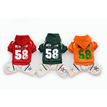 Causal Style Pet Clothes Dog Cotton Hoodies