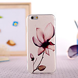 Lotus Painting Ultrathin TPU with Plastic for iPhone 6