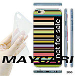 MAYCARI®Colorful Keys Not for Sale Pattern TPU Soft Transparent Back Case for iPhone 6