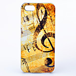 maycari®music note Muster abs stark Argument für iphone 5/5 s
