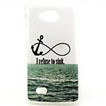 Sea Anchor Pattern TPU Material Phone Case for LG H220 / H422 / H502