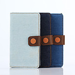 4.6 Inch Cowboy Grain Pattern PU Wallet Leather Case with Stand for Sony Xperia A4(Assorted Colors)