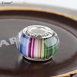 Euner® Resin Beads DIY European Murano Troll Czech Bead Charms Pendant Fit For Bracelet Pandora Bracelets(10PCS)