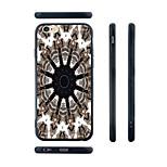 Twelve Tentacles Pattern Silica Gel Edge Back Case for iPhone 6