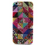 Floral Pattern TPU Material Phone Case for iPhone 6