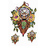 Wisdom Rational Owl Tattoo Stickers Temporary Tattoos(1 Pc)