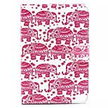 caso duro elefante padrão para mini iPad 3, mini iPad 2, iPad mini
